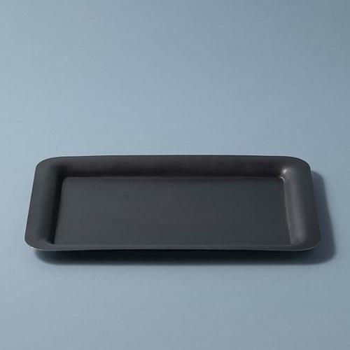 日本Aoyoshi 燭光之夜方形托盤 (黑、27.3公分)