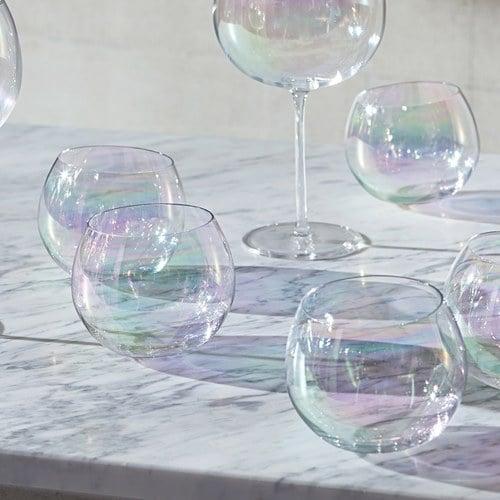 英國LSA 輕靈氣泡圓球水杯4入組 (350毫升)