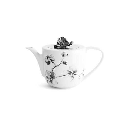美國MichaelAram 黑蘭花系列午茶茶壺