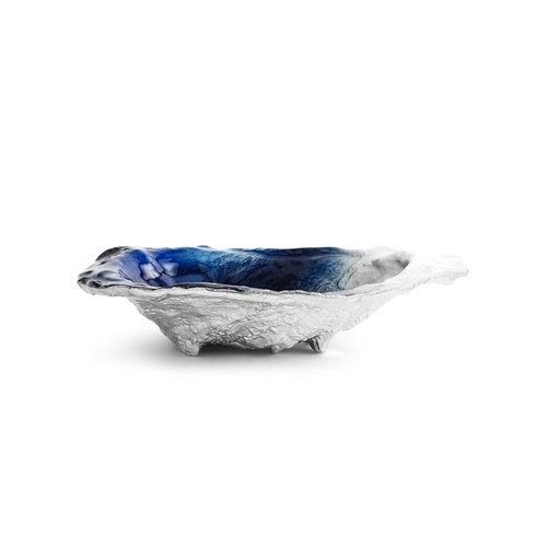 美國MichaelAram 牡蠣貝殼造型托盤 (藍)