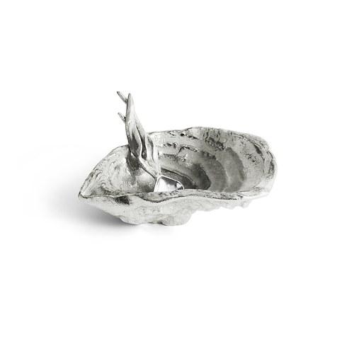 美國MichaelAram 牡蠣貝殼附匙醬料碟