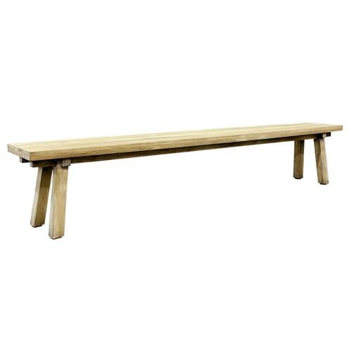 荷蘭Woven+ 原木長椅凳