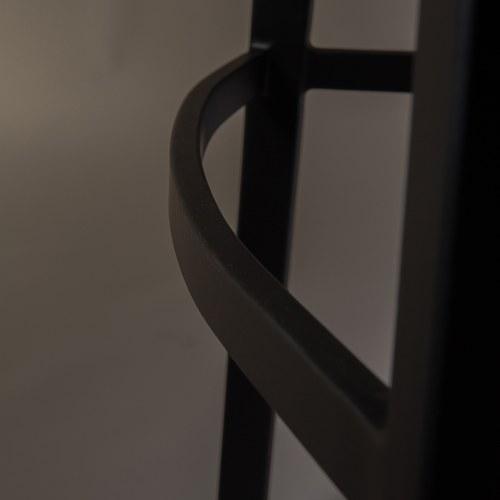荷蘭Zuiver 二縫線皮革中島椅 (棕)
