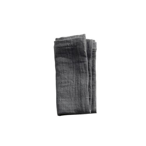 丹麥tineKhome 微皺質感紡織餐巾墊 (灰)
