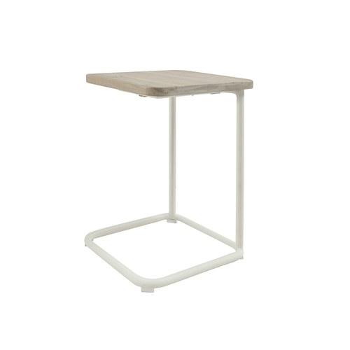 荷蘭Woven+ 狐步舞曲方形邊桌 (白)
