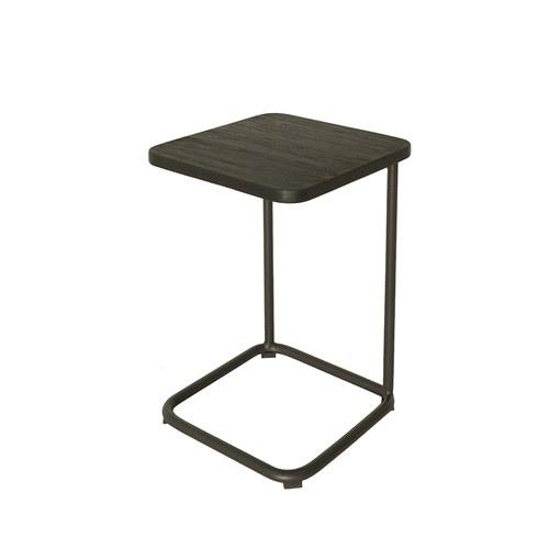 荷蘭Woven+ 狐步舞曲方形邊桌 (黑)