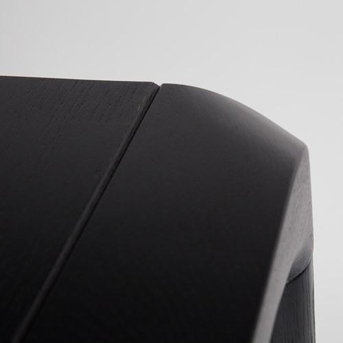 荷蘭Zuiver 倒角設計餐桌 (黑、長180公分)