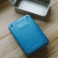 日本TRUSCO 上掀式工具收納盒 (藍、15.4公分)