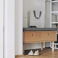 丹麥Hubsch 小屋收納抽屜椅凳