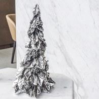 丹麥LeneBjerre 銀色耶誕樹擺飾