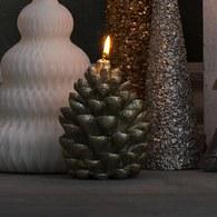 丹麥LeneBjerre 松果聖誕蠟燭