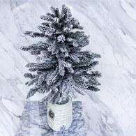 丹麥LeneBjerre 北國落雪景致聖誕樹(高65公分)