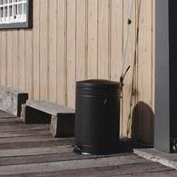 丹麥Nordal經典垃圾桶(霧黑、20公升)