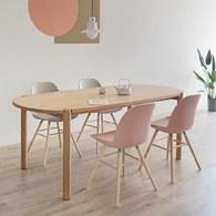 丹麥Sketch Cove橢圓型膠囊餐桌 (橡木、200公分)