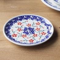 波蘭 Zaklady 陽光花圈陶瓷圓形餐盤 (直徑24公分)