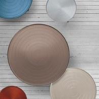 義大利OliverB OUTLINE咖啡桌 (青銅色、直徑93公分)