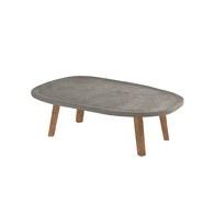 義大利OliverB 曠野造作混凝土桌几 (灰、85公分)