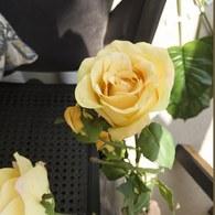 荷蘭Emerald人造花藝 黃色夏娃玫瑰
