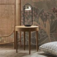 波蘭Sits 收納款橡木圓形邊桌 (直徑50公分)