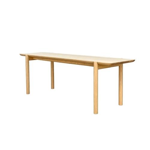 丹麥Sketch Folk北歐原木長椅凳 (橡木、140公分)