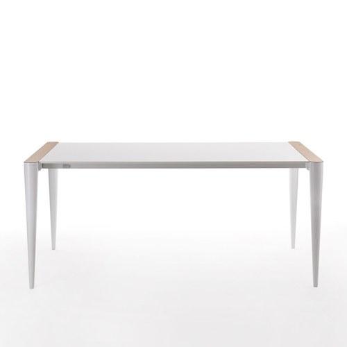 義大利HORM BOLERO極致奈米科技極簡錐形腳餐桌 (白、長172~272公分)