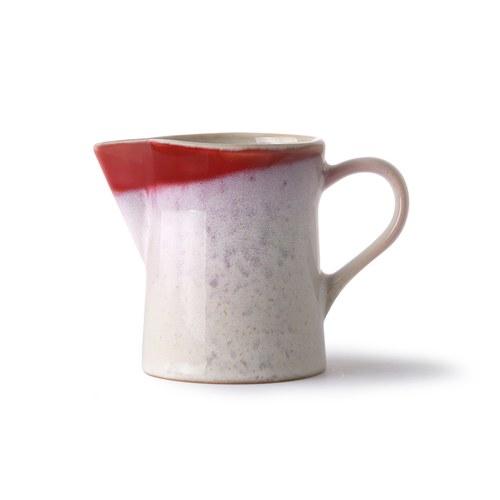 荷蘭 HkLiving 70年代寫意復古牛奶壺糖罐組 (紅)