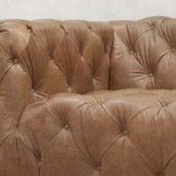 英國 Alexander&James 英倫搖滾手工雙人座沙發 (棕)
