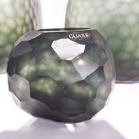 德國Guaxs玻璃燭台SOMBA系列(墨綠、高12公分)x高12公分