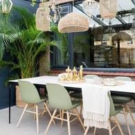 荷蘭Zuiver 艾伯特簡約弧形單椅 (橄欖綠)