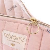 西班牙Nobodinoz 外出旅行化妝收納包 (小、粉色營地探險)